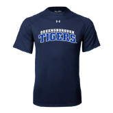 Under Armour Navy Tech Tee-Arched Queensborough Tigers