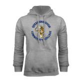 Grey Fleece Hoodie-Queensborough Tigers