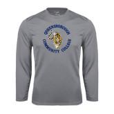 Performance Steel Longsleeve Shirt-Queensborough Tigers