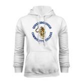 White Fleece Hoodie-Queensborough Tigers