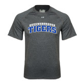 Under Armour Carbon Heather Tech Tee-Arched Queensborough Tigers