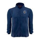 Fleece Full Zip Navy Jacket-Queensborough Tigers
