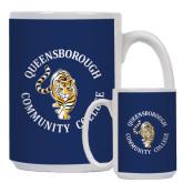 Full Color White Mug 15oz-Queensborough Tigers