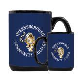 Full Color Black Mug 15oz-Queensborough Tigers