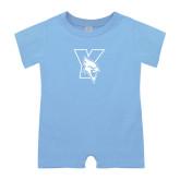 Light Blue Infant Romper-Cardinal