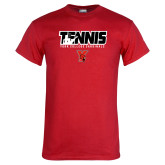 Red T Shirt-Tennis Stacked