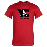 Red T Shirt-YC with Perched Cardinal