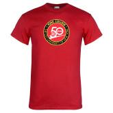 Red T Shirt-York College 50th Anniversary