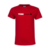 Youth Red T Shirt-York College with CUNY Square