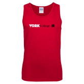 Red Tank Top-York College with CUNY Square