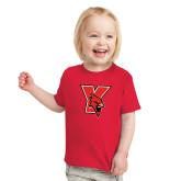 Toddler Red T Shirt-Cardinal