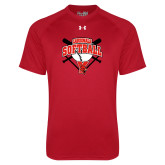 Under Armour Red Tech Tee-Cardinals Softball