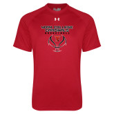 Under Armour Red Tech Tee-York College Cardinals Basketball