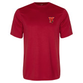 Performance Red Tee-Cardinal