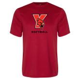 Performance Red Tee-Softball