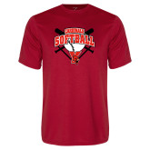 Performance Red Tee-Cardinals Softball