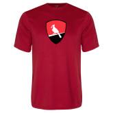 Performance Red Tee-Shield Logo