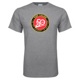Grey T Shirt-York College 50th Anniversary