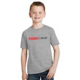 Youth Grey T-Shirt-Officlal Logo