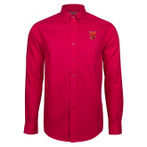 Red House Red Long Sleeve Shirt-Cardinal