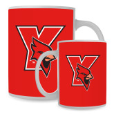 Full Color White Mug 15oz-Cardinal