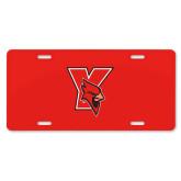 License Plate-Cardinal