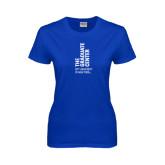Ladies Royal T Shirt-Official Logo