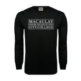 Black Long Sleeve TShirt-City College