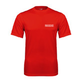 College Performance Red Tee-Official Logo