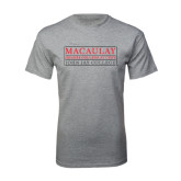 Grey T Shirt-John Jay College