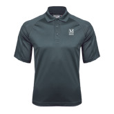 College Charcoal Dri Mesh Pro Polo-Lettered Macaulay Honors