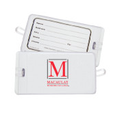 College Luggage Tag-Stacked Macaulay Honors