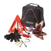 College Highway Companion Black Safety Kit-Official Logo