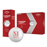 Callaway Chrome Soft Golf Balls 12/pkg-Stacked Macaulay Honors