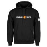 Black Fleece Hoodie-Short Logo Circle