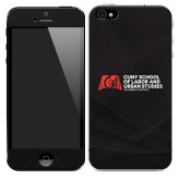 iPhone 5/5s/SE Skin-SLU Murphy Stacked Decal - PMS Warm Red, White