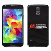 Galaxy S5 Skin-SLU Murphy Stacked Decal - PMS Warm Red, White
