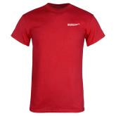 Red T Shirt-SLU Logotype