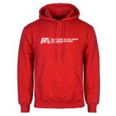 Red Fleece Hoodie-SLU Murphy