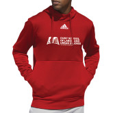 Adidas Red Team Issue Hoodie-SLU Murphy Stacked