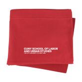 Red Sweatshirt Blanket-SLU Logotype