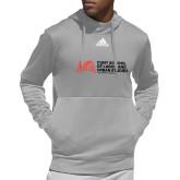 Adidas Grey Team Issue Hoodie-SLU Murphy Stacked