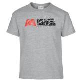 Youth Grey T Shirt-SLU Murphy Stacked