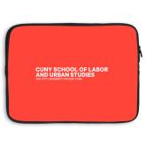 15 inch Neoprene Laptop Sleeve-SLU Logotype