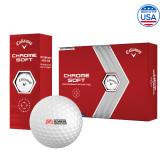 Callaway Chrome Soft Golf Balls 12/pkg-SLU Murphy Stacked