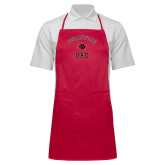 Full Length Red Apron-Dad