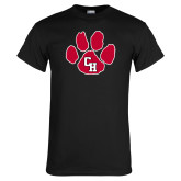 Black T Shirt-Paw