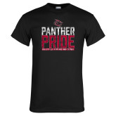 Black T Shirt-Panther Pride