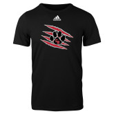 Adidas Black Logo T Shirt-Primary Athletics Mark