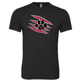 Next Level Vintage Black Tri Blend Crew-Primary Athletics Mark